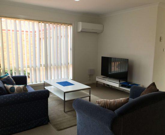 Melton Motor Inn - apartment 2b living room